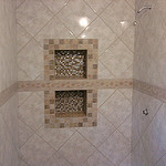 Custom shower surround